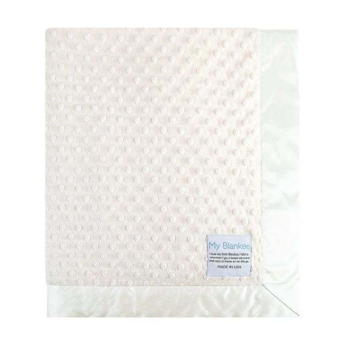 MyBlankee minky dot blanket - The Original Childrens Shop