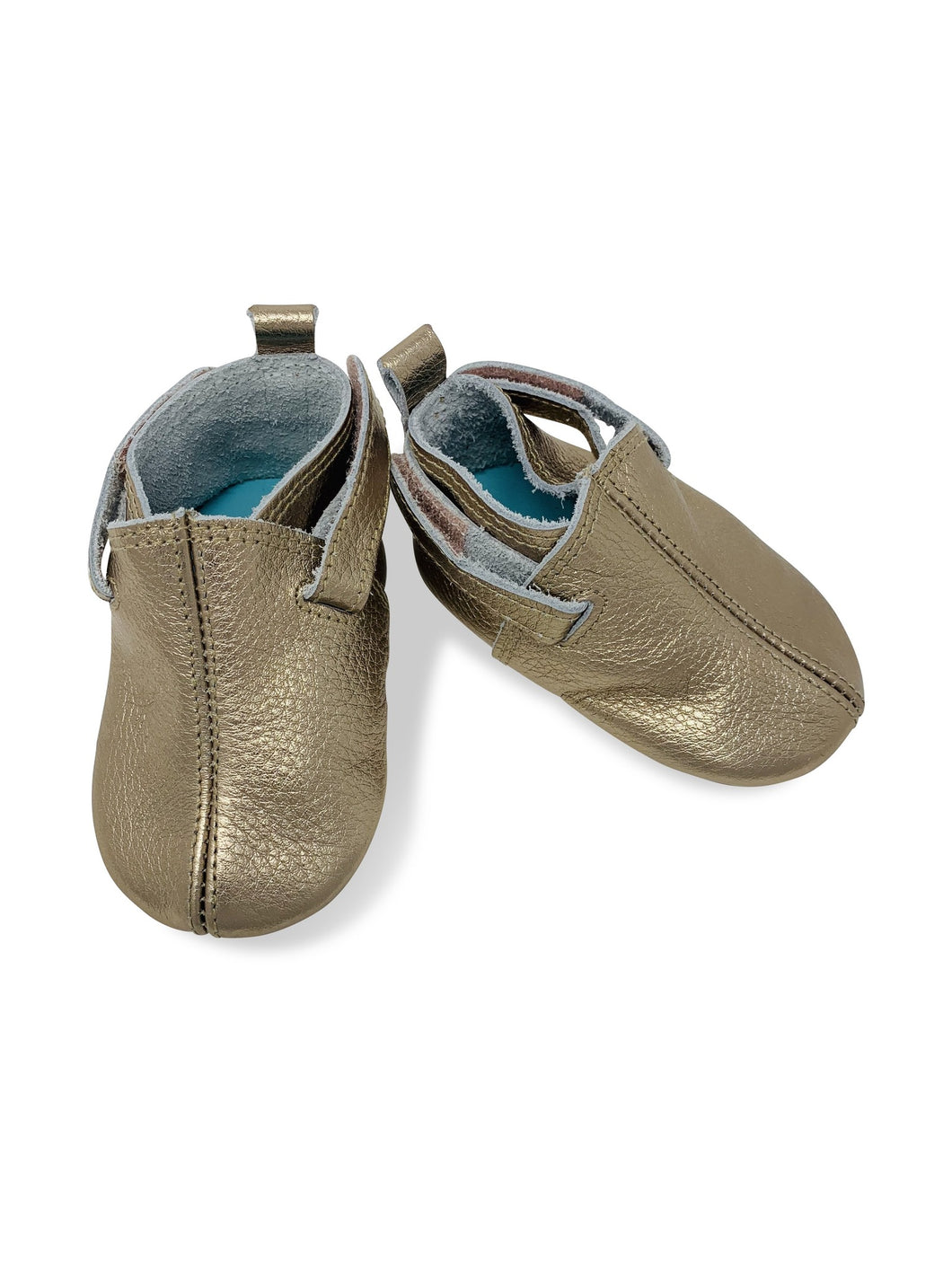 Zutano leather crib shoe