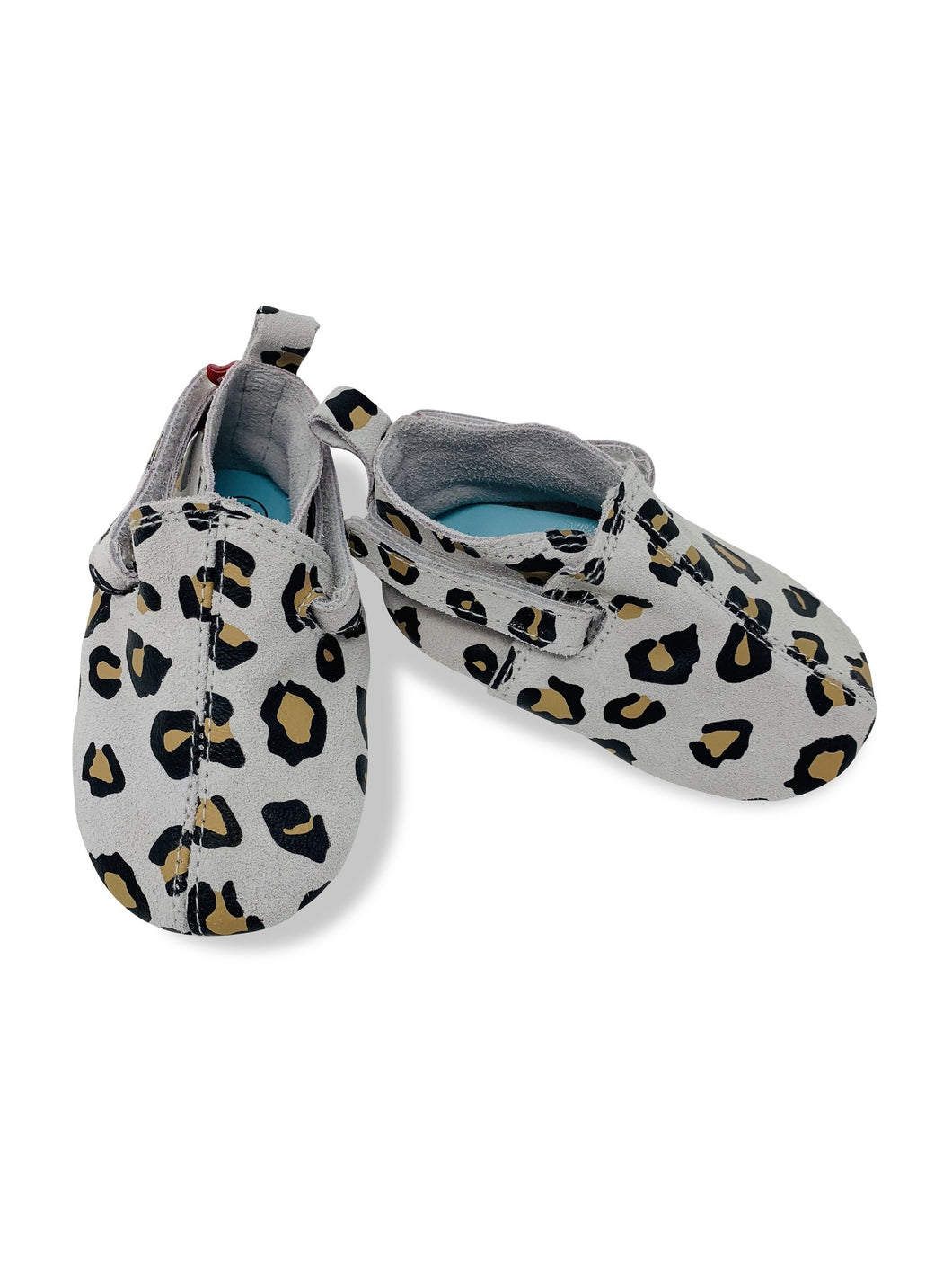 Zutano leather crib shoes