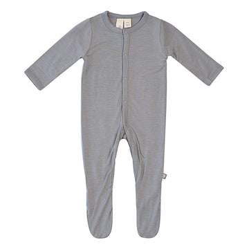Kyte Baby solid snap footie - The Original Childrens Shop