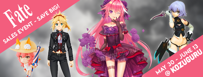 ANNOUNCEMENT - Fate Sales Event - $10 off any purchase $50 or more on Fate items! (May 30 - June 13)