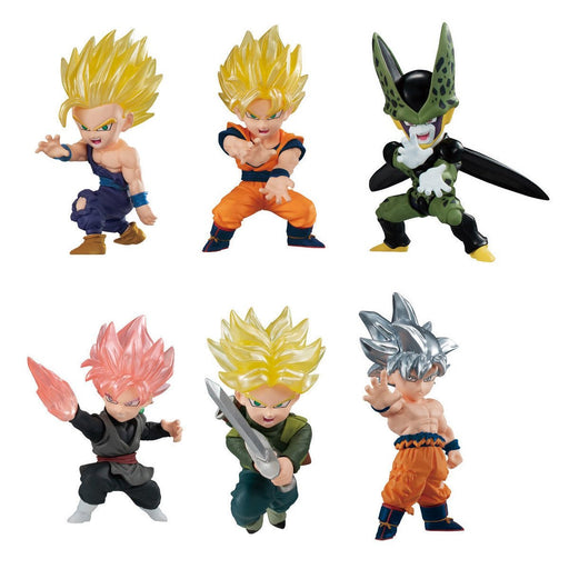 Bandai Dragon Ball Adverge Motion Character Candy Toy Mini Figures