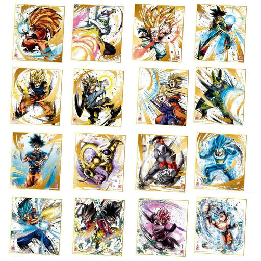 Dragon Ball Art Reprint Special Character Shikishi Card Autograph Board