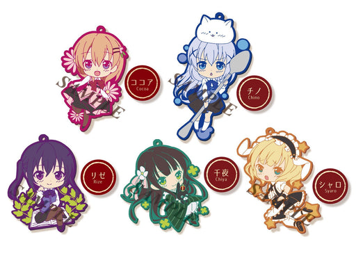 Niitengomu! Is the Order (Gochuumon) Rubber Strap *Set of 5*
