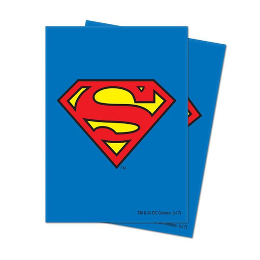 Ultra Pro: Justice League: Superman Deck Protector Sleeves Standard 65CT