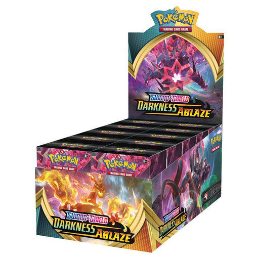 Pokemon TCG: Sword and Shield Darkness Ablaze Build and Battle Set (Boosters + Evolution Pack)