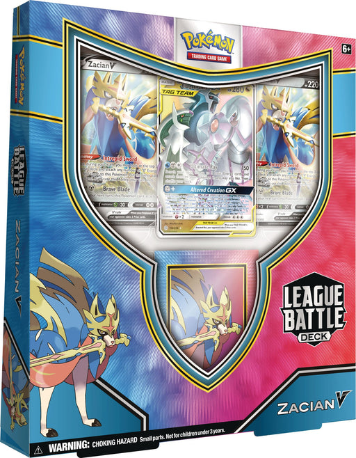 Pokemon Zacian V League Battle Deck Nov 2020