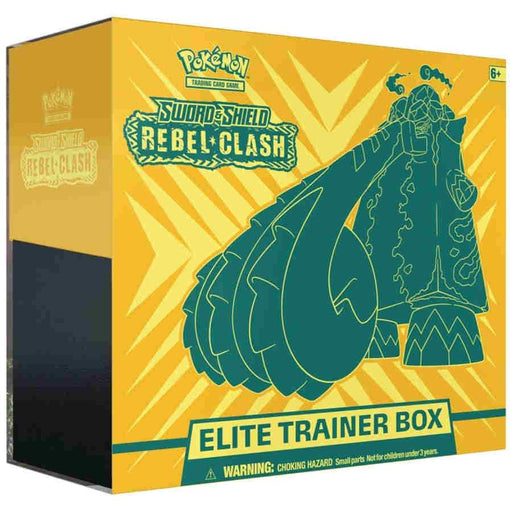 Pokemon TCG: Sword and Shield Rebel Clash Elite Trainer Box