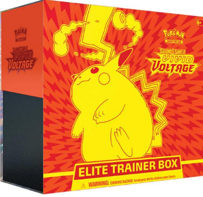Pokemon TCG: Sword & Shield - Vivid Voltage Elite Trainer Box ETB