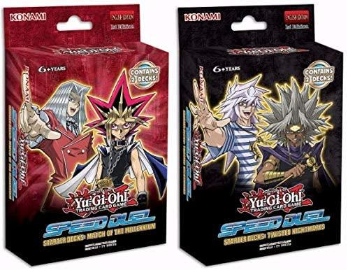 Yu-Gi-Oh! TCG Speed Duel Structure Deck Display - Match of the Millennium and twisted Nightmares