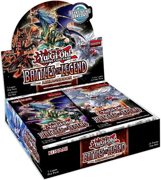 Yu-Gi-Oh! Booster Box - Battles of Legend: Armageddon