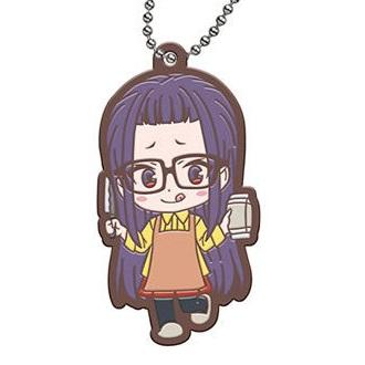 Yuru Camp Character Capsule Rubber Ball-Chain Mascot Key Chain Vol.2