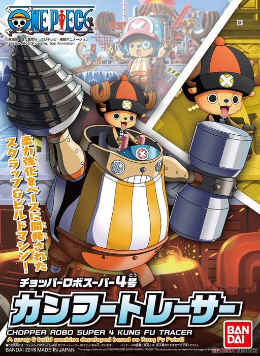 One Piece - Chopper Robo Super 4 Kung Fu Tracer - Bandai Model Kit