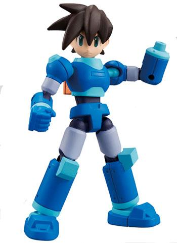 Mega Man 66 Action Dash Rock Volnutt Servbot - Mini Action Toy Figure