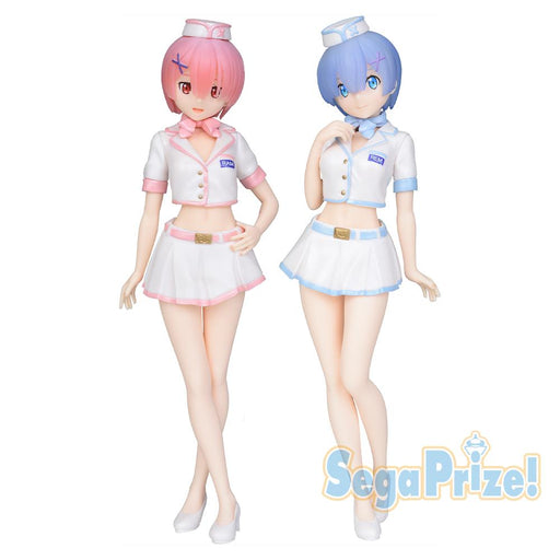 Re: Zero - Rem & Ram Wonder Festival Winter - Sega Prize Figure July 2020