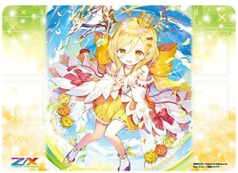 Z/X Zillions of Enemy X - `Origin Shift` Lightdawn Maiden, Nino - Character Rubber Playmat