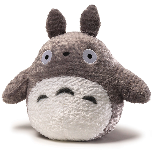 My Neighbor Totoro 13' - Sun Arrow Grey Fluffy Big Pillow Plush