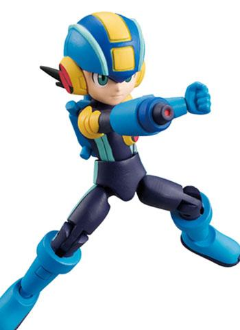 Mega Man 66 Action Dash Mega Man EXE Battle Network Sword - Mini Action Toy Figure