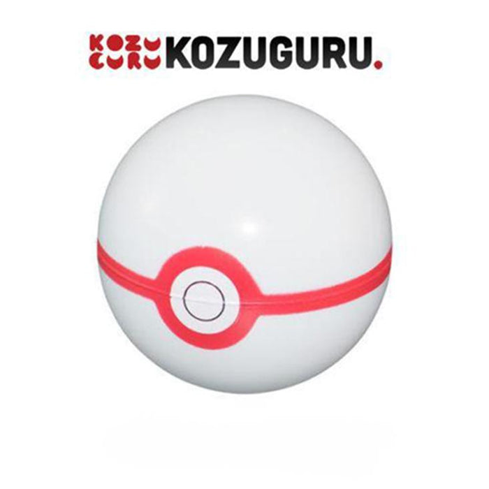 Pokemon Sun & Moon - Premier Ball - Soft Squishy Poke Ball Toy
