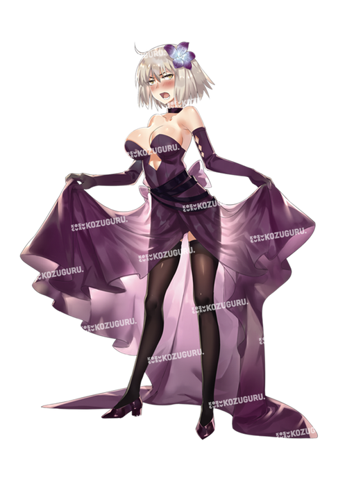 Fate Grand Order Party Night Doujin - Formal Wear Character Acrylic Stand