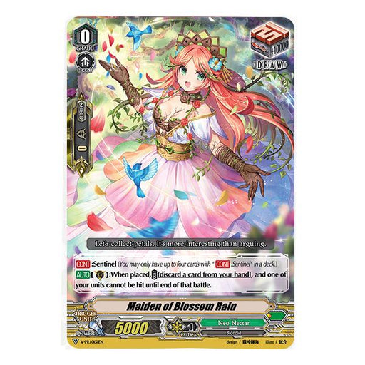 Vanguard - Maiden of Blossom Rain - VTD Box Topper Play Set