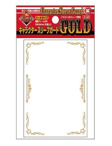 KMC Gold Over Sleeves Character Guard 60pcs