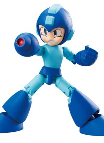 Mega Man - 66 Action Dash Mega Man E Tank - Mini Action Toy Figure