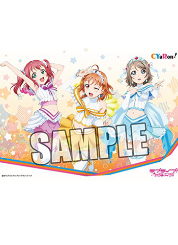 Love Live! Sunshine!! - CYaRon! Ruby Chika You - Rubber Play Mat