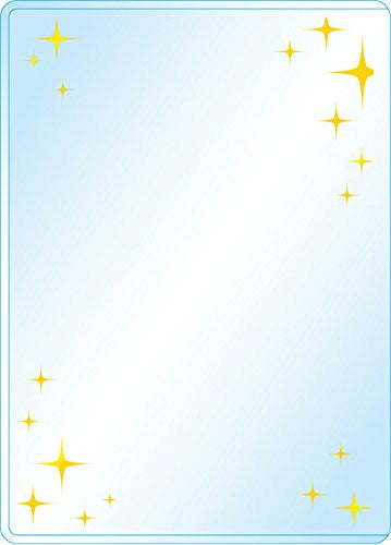 Premium Card Side Loader Guard - Kirakira - Gold (3PCS)