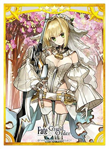 Fate/Grand Order - Red Saber Nero Claudius (Bride) - Character Sleeves 80CT FGO