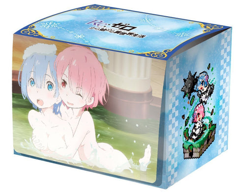 Re:Zero Starting Life in Another World - Rem & Ram - MAX Deck Box w/Divider