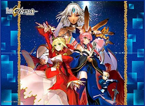 Fate/Extella Extra - Nero Claudius Red Saber Caster Tamamo Altera - Play Mat