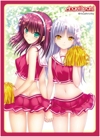 Angel Beats! - Yuri & Angel - Character Sleeves 80CT