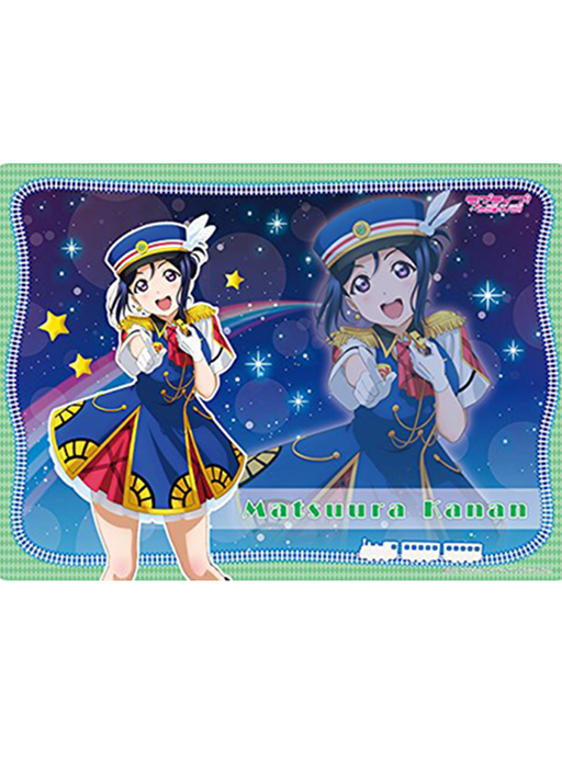 Love Live! Sunshine!! - Kanan Happy Party Train Ver. - Rubber Play Mat