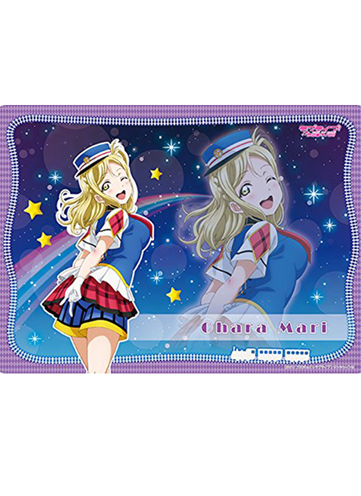 Love Live! Sunshine!! - Mari Happy Party Train Ver. - Rubber Play Mat