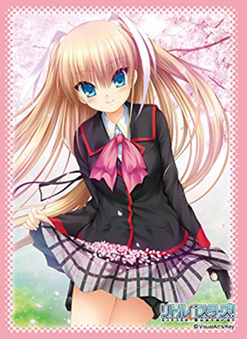 Little Busters! - Saya Tokido - Sleeves 80CT Ver.2