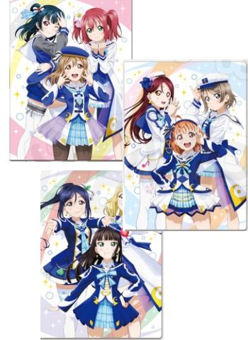 Love Live! Sunshine!! 3rd Love Tour Ver. Exclusive Character Double Pocket Clear File