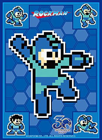 Mega Man Full Cast - Character Sleeves 80CT