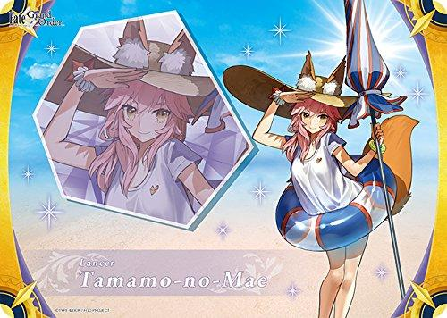 Fate Grand Order Lancer Tamamo no Mae - Character Rubber Play Mat FGO