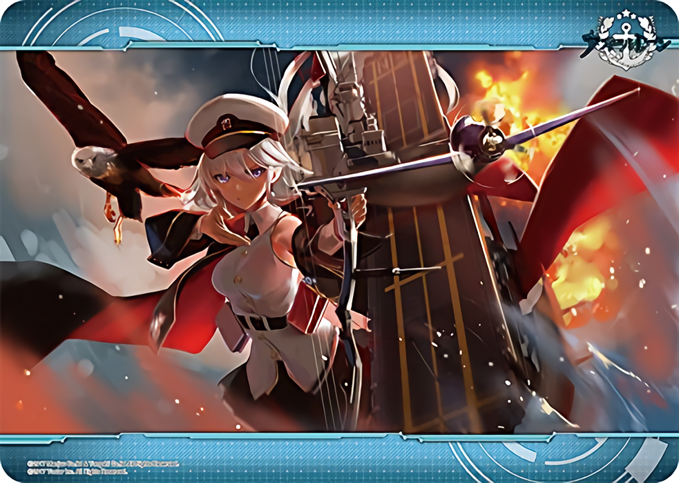 Azur Lane - Enterprise - Character Rubber Play Mat
