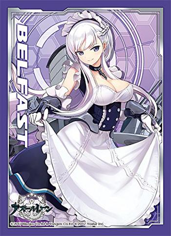 Azur Lane Belfast - Character Sleeves 80CT Anime Art