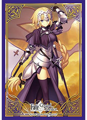 Fate/Grand Order - Ruler Jeanne d`Arc - Character Mini Sleeves 80CT