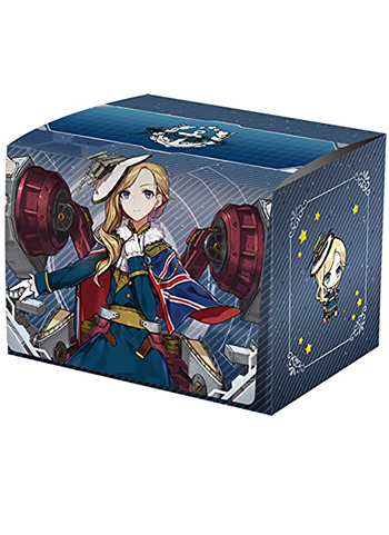 Azur Lane Hood - Character MAX Deck Box w/ Divider