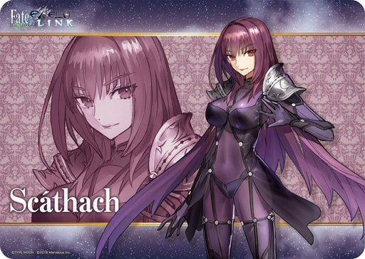 Fate/Extella Link Lancer Shishou Scathach - Character Rubber Play Mat