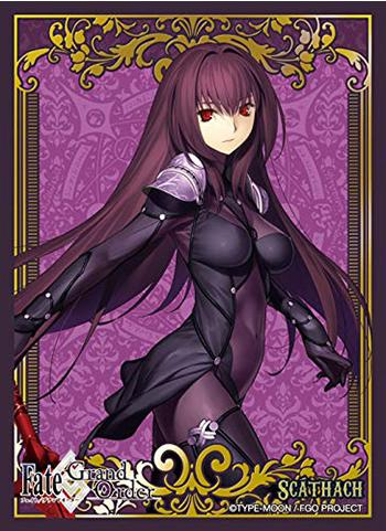 Fate Grand Order Lancer Shishou Scathach - Character Sleeves 80CT PG FGO
