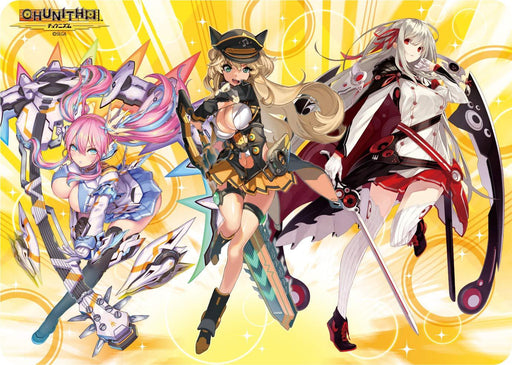 Chunithm Sheryl, Beatrix and Rena - Character Rubber Play Mat