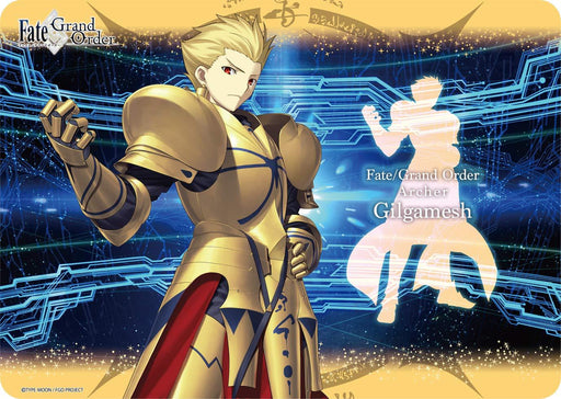 Fate Grand Order Archer Gilgamesh - Character Rubber Play Mat FGO