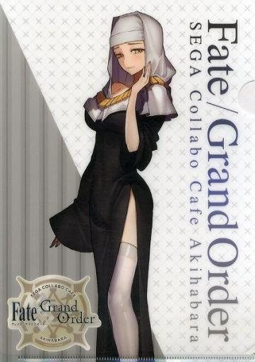 Fate Grand Order Collab Cafe Epic of Remnant Alter Ego Kiara Sessyoin A4 Clear File FGO