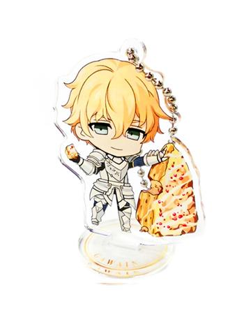 Fate/EXTRA Last Encore Saber Gawain Collab Exclusive Acrylic Key Chain Stand