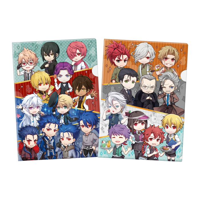 Fate Grand Order Chaldea Boy Collection Cafe A4 Clear File Set 2 PCS FGO